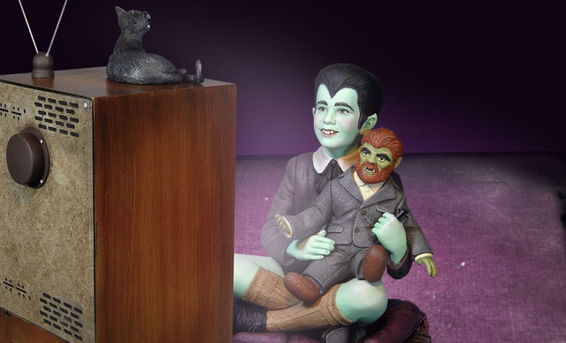 Eddie Munster with Woof Woof Collectible